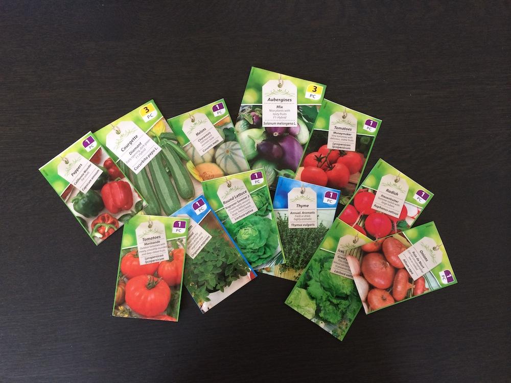 Zelf groenten en kruiden kweken…