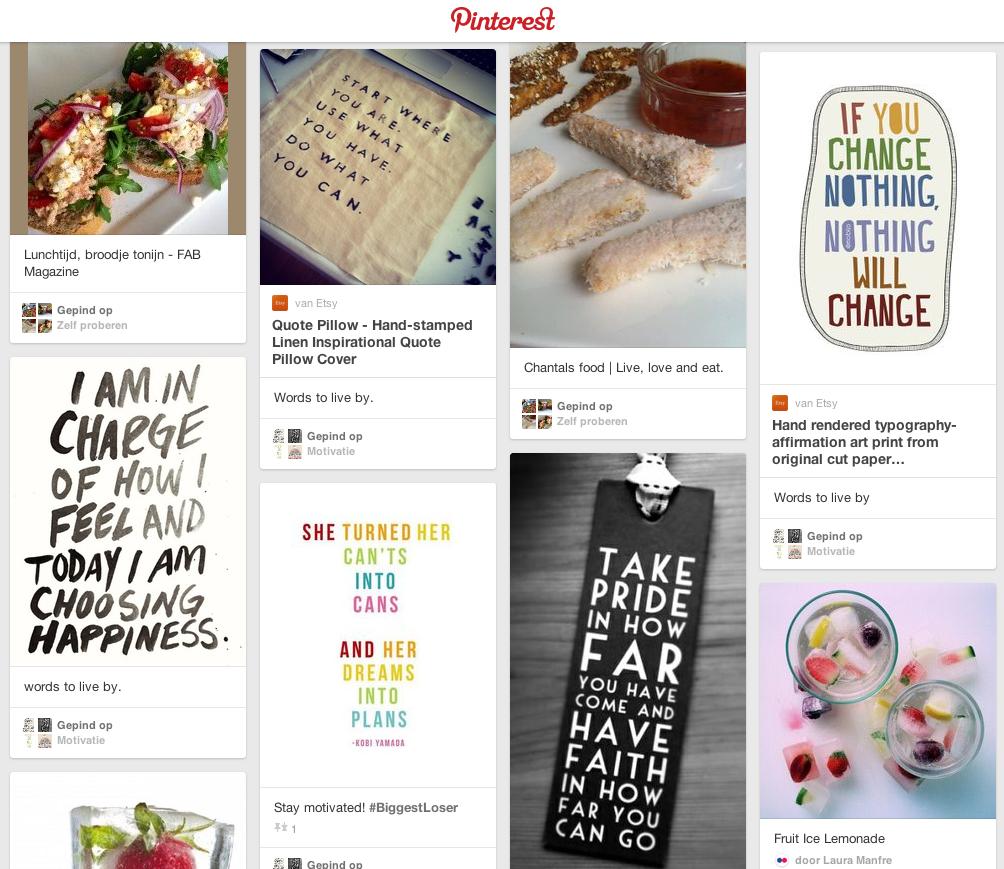 Nieuwe verslaving: Pinterest