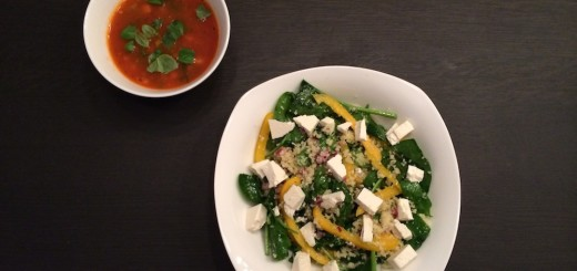 spinazie_salade_couscous_paprika_witte_kaas