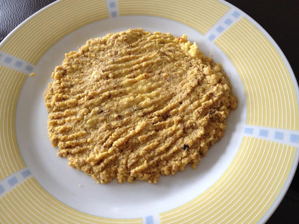 Mislukt ontbijt: ei-bananenprut met sinaasappel-citroen sap