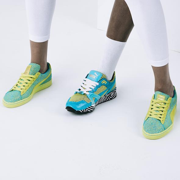 Met sneakers Solange Knowles val je op