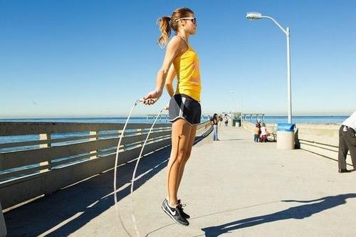 Touwtje springen maakt je fit!