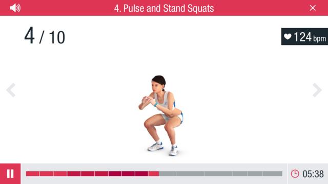 Runtastic Leg Trainer: squats én meer